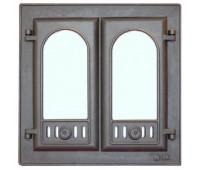 301 LK Дверца каминная 2-х створчатая (410х410)