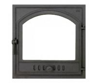 405 SVT каминная дверца со стеклом(одностворчатая)