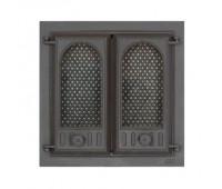 402 SVT каминная дверца со стеклом(двухстворчатая)