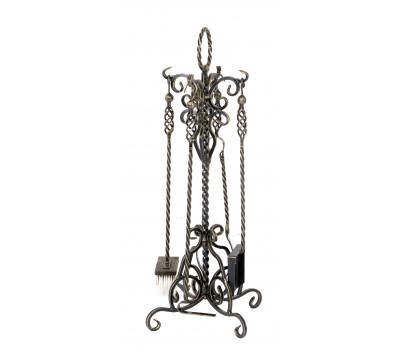 купить Каминный набор Везувий Кованный N110Ч от производителя Везувий по цене 6180.00р.в нашем магазине в Москве