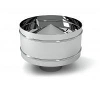 Дефлектор нерж. (AISI 430/0,5мм) 130х220д