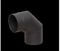 Отвод LAVA черный 90°, 2 мм 150д
