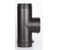 Тройник 90° РМ25 (Черный) 200д