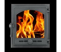 Дверка ДТГ-8АС (Р) топочная герметичная Онего крашенная 290х325 (без стекла)