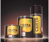 Краска термостойкая (банка 0,08 кг) Патина Золото CERTA