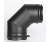 Отвод 90° РМ25 (Черный)130д