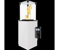 Газовый обогреватель Kratki (уличный) PATIO/MINI/G31/37MBAR/B - сталь, с пультом ДУ (8,2 кВт)
