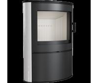 Печь-камин Kratki KOZA/AB/S/2/KAFEL (Кафель белый, черный, кремовый) (10 кВт)