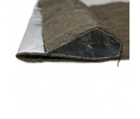 Базальтовый картон фольгированный 1000х600х10мм (3шт/уп)